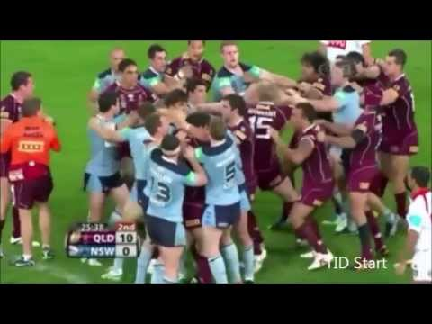 State of Origin Fights and Brawls