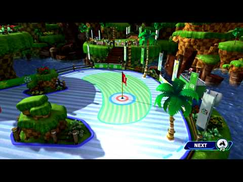 Mario and Sonic at the Sochi 2014 Olympic Winter Games - Part 23: Hole-In-One Curling