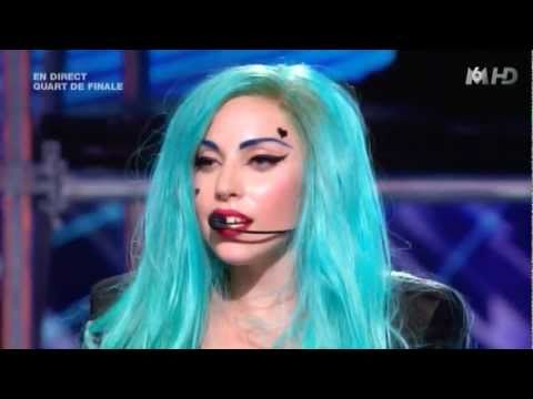 Lady Gaga The Edge of Glory & Judas - X-Factor Music Videos