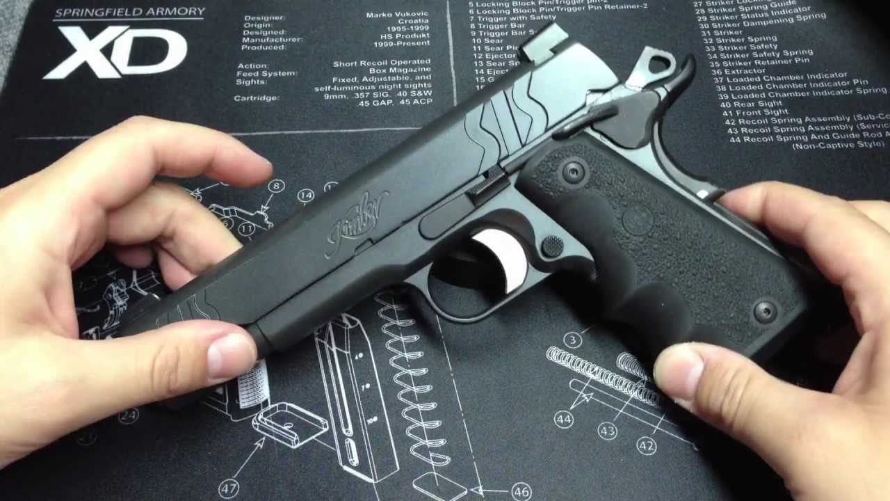 Kimber sis 1911 45 pistol one of the most controversial 1911s ever