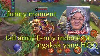Funny moment | fail army fanny indonesia,dijamin ngakak!!