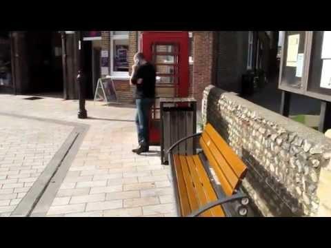 MaxTV:Russian immigrant in UK - Shoreham town centre