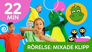 Bolibompa Baby: Mixade klipp RÖRELSELEKAR | 22 min