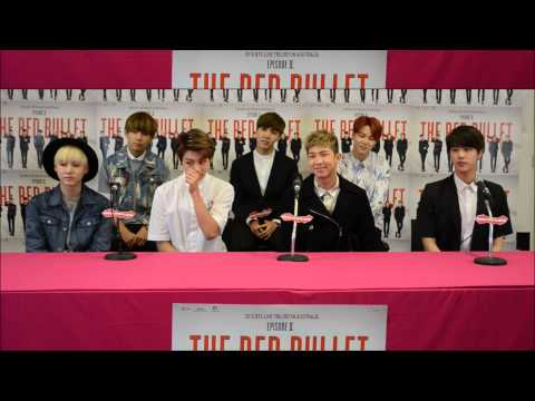 Full Official BTS Conference - Presented by 'Asian Pop Radio' Melbourne, Australia