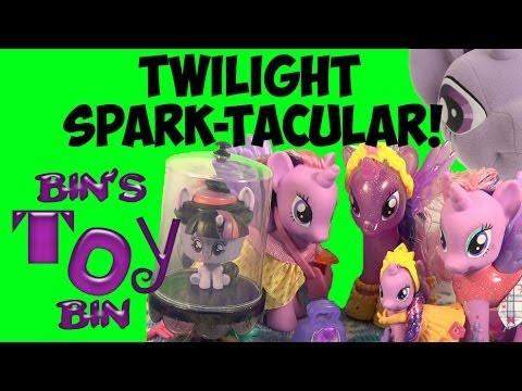 My Little Pony TWILIGHT SPARK-TACULAR! Six Twilight Sparkle Toy Reviews! by Bin's Toy Bin