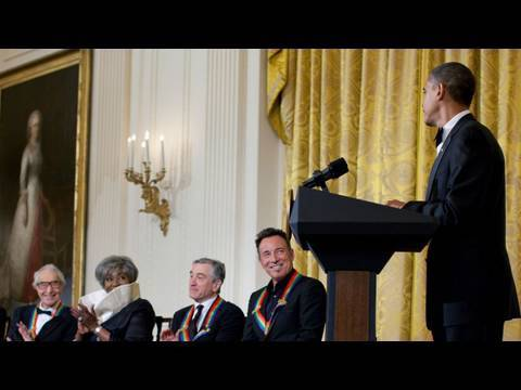 President Obama Celebrates Kennedy Center Honorees
