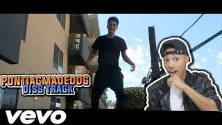 Diss God - PontiacMadeDDG Diss Track (Official Lyric Video) Reaction