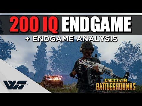 200 IQ ENDGAME - With in-depth endgame analysis & walkthrough - PUBG