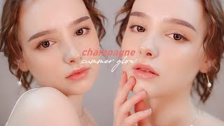Champagne Summer Glow ✨ Makeup Tutorial | Sissel