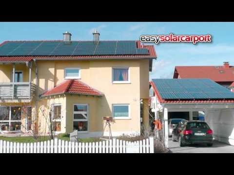 Easysolarcarport aus der Zukunftsfabrik vom Carportwerk - Neuruppin