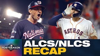 Nationals dominated, and the Astros outlasted the Yankees! | ALCS/NLCS Recap