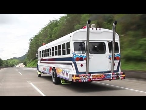 Up The Panama Canal Without A Paddle -  tuned video