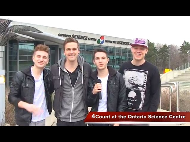 4Count at the Ontario Science Centre