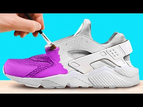 5 EXAMPLES OF PERFECTLY CUSTOMIZED SNEAKERS