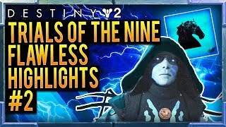 Destiny 2: Trials of the Nine (X2 FLAWLESS) WIN EVERY TRIALS GAME WITH A BUBBLE