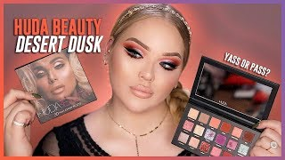 HUDA BEAUTY DESERT DUSK PALETTE: Review + Swatches