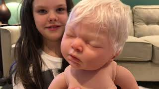 Reborn Baby Doll Opening with Wreck-It-Whynot #1