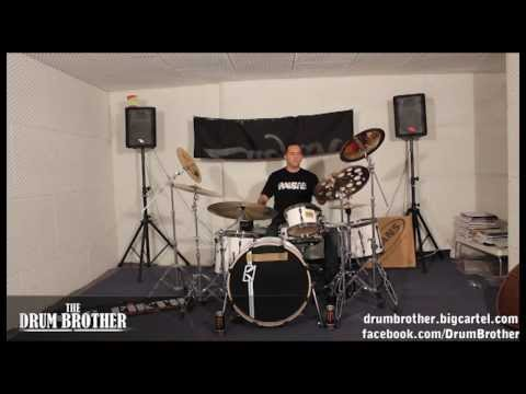 John Macaluso (Yngwie Malmsteen , James La Brie, the Ark) Hi Hat rolls and grooving Drum Lesson
