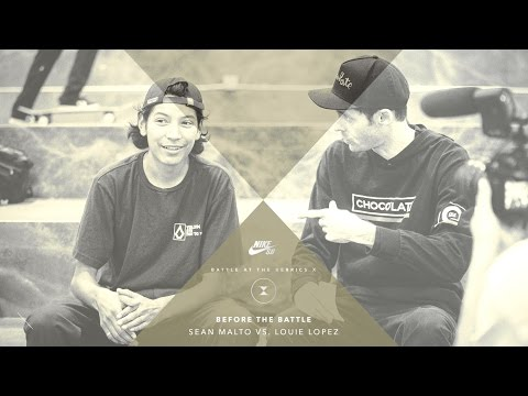 BATB X | Before The Battle: Sean Malto vs. Louie Lopez