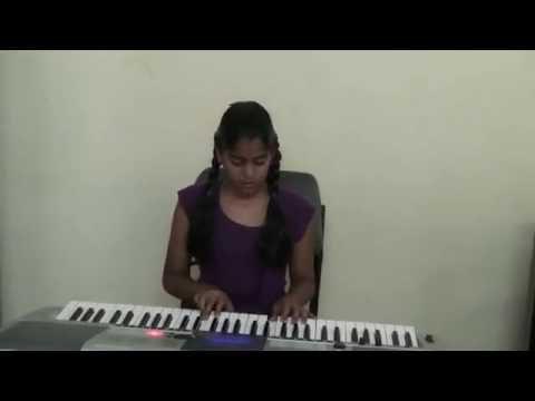 Aao bacho tumhe dikhaye jhanki hindustan ki on keyboard by Vaasanthi...