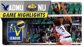 NU vs ADMU | Game Highlights | Shakey's V-League Collegiate Conference