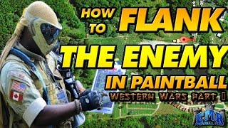 HOW TO FLANK in Paintball!!!