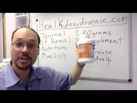 Natural Remedy and Supplement To Reverse/For Reversing Kidney Disease