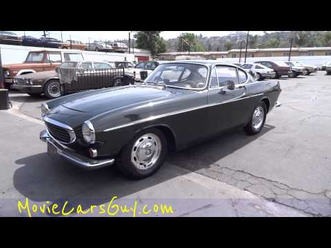 Cars Vintage Classic Rare Movies Car Film TV Volvo P1800 Sports Car