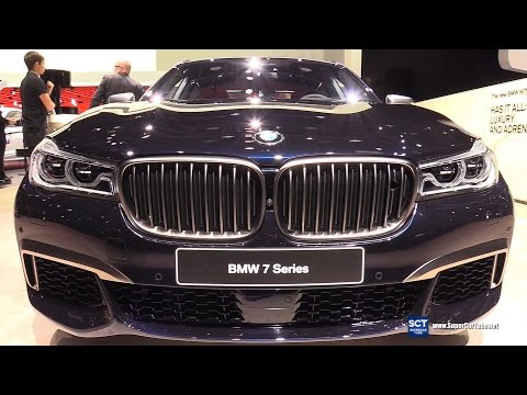 2018 BMW 7 Series M760i xDrive - Exterior, Interior Walkaround - World Debut 2017 Detroit Auto Show