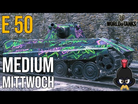 World of Tanks   E 50 auf Himmelsdorf am Medium Mittwoch