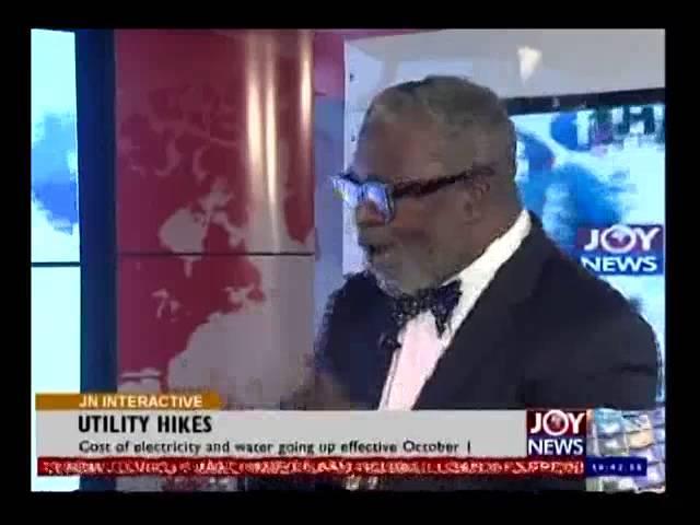 Utility Tariffs Increase - Joy News Interactive (30-9-14)