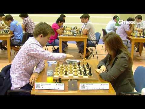 Magnus Carlsen vs Judit Polgar: World Blitz Championship!