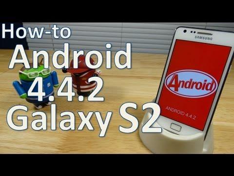 Instalar Android 4.4.2 en Galaxy S2 (Español Mx)