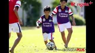 Truyền nhân của Công Phượng:Thần đồng bóng đá mới của Việt Nam.Siêu nhân nhí của lò HAGL Arsenal JMG
