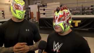The Lucha Dragons Interview: Sin Cara & Kalisto on NXT, WWE's Performance Center & Dream Matches