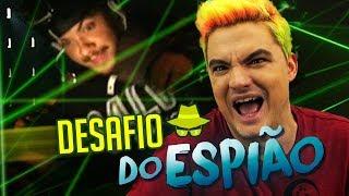 DESAFIO DO ESPIÃO COM LASER DE VERDADE!