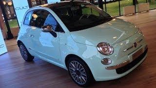 Fiat 500 Cult MY 2014, il nuovo top di gamma