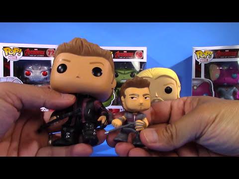 Pop! Marvel - Hawkeye & Thor Unboxing [Avengers: Age of Ultron] - Funko