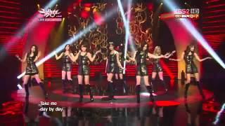 1080p HD120720 T ara Day By Day KBS Music Bank YouTube
