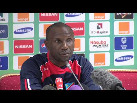 RD Congo - Conférence de presse (31/01) - Orange Africa Cup of Nations, EQUATORIAL GUINEA 2015