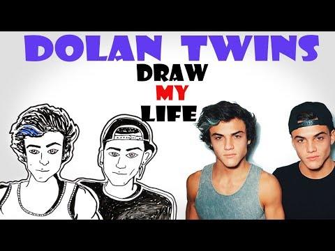 Draw My Life : Dolan Twins