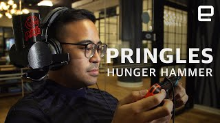 "Pringles Hands Free ""Hunger Hammer"" hands-on"