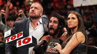 Top 10 Raw moments: WWE Top 10, September 14, 2015
