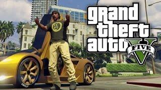 GTA V Online - GOLD CARS AND GOLD SHIRTS! (GTA V Online)