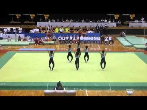 Japan Men's Rhythmic Gymnastics Team Demo