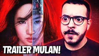 LIVE ACTION DE MULAN!! - React + Análise do Trailer