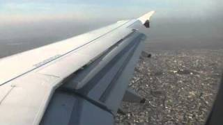 Landing in Baku from Tbilisi - British Midland A321 G-MEDU