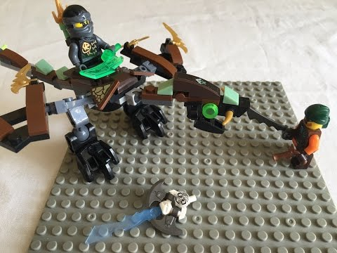 Обзор китайского набора Ninja Дракон Коула