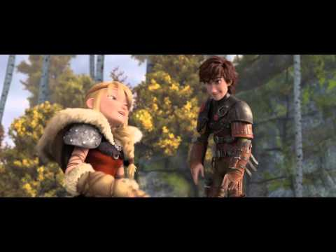 HOW TO TRAIN YOUR DRAGON 2 - Astrid & Hiccup clip