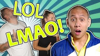REACTING TO MIKEY BUSTOS! ENGLISH IN THE PHILIPPINES! VLOG!
